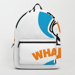 Funny Hand-Drawn Duck - Duck Backpack
