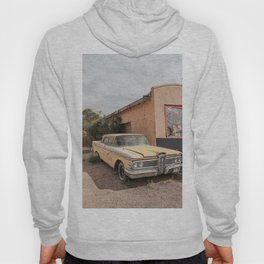 Old American Car Art Print | Famous Route 66 Arizona | Travel Photography Hoody