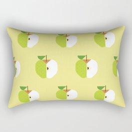 Fruit: Apple Golden Delicious Rectangular Pillow