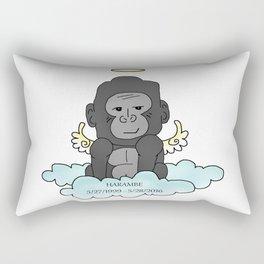 RIP Harambe Rectangular Pillow