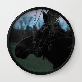 Missy Evening profile Wall Clock