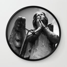 Prayer for Peace Wall Clock