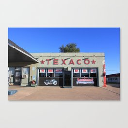 Texaco Oil - Tucumcari, New Mexico (2) Canvas Print