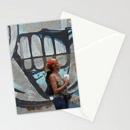 Cuban Streetart - Pinch the Lady Stationery Cards