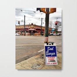 South Main, Memphis Metal Print