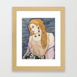 Poised Framed Art Print