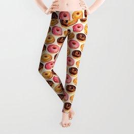 Donut Pattern Leggings