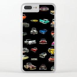 Car Cluster Clear iPhone Case