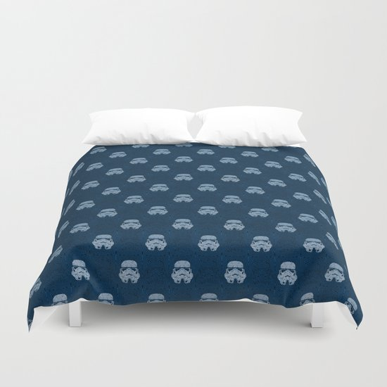 Storm and radiation Duvet Cover