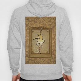 Golden ballerina Hoody