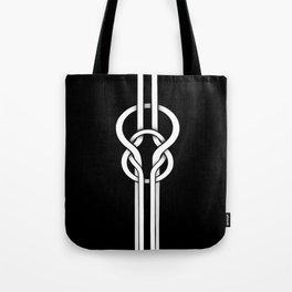 white knot Tote Bag