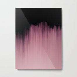 Dramatic Pink Metal Print