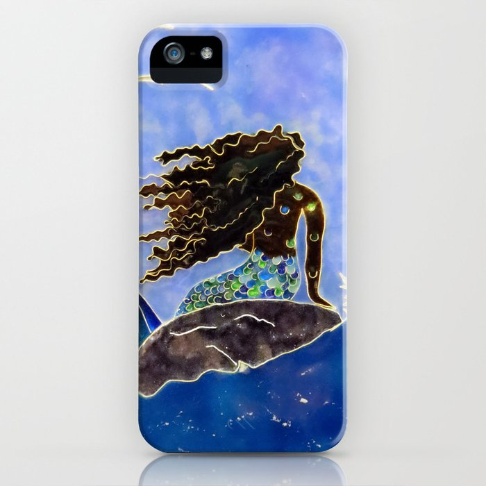 Lady of the Atlantic Crossing iPhone Case