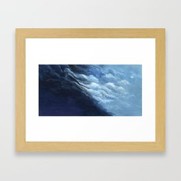 Children's book Cloud Woman print Framed Art Print