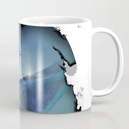 Cute Dragon in blue Coffee Mug