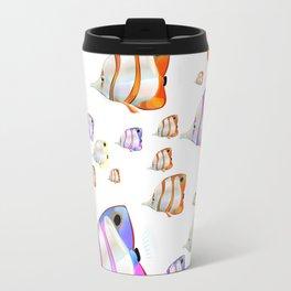 Tropical Fish pattern Travel Mug