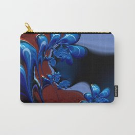 Ruby Blue Carry-All Pouch