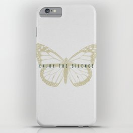 Enjoy the Silence iPhone Case