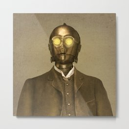Baron Von Three PO - square format Metal Print