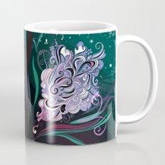 Wind tangle, blue Mug