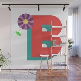 Letter B Wall Mural