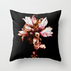 Flower in Color Throw Pillow