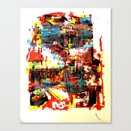 space is space Canvas Print