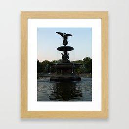 cent park  Framed Art Print