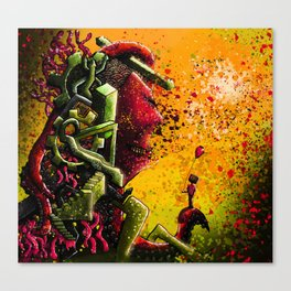 Small-fry Canvas Print