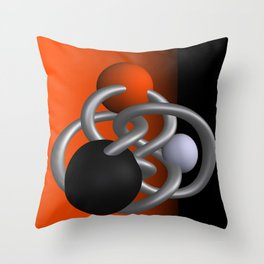 trapped -2of3- Throw Pillow