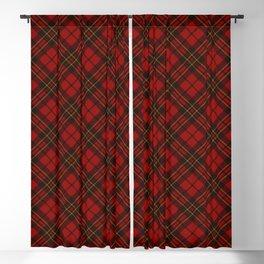 Adorable Red Christmas tartan Blackout Curtain