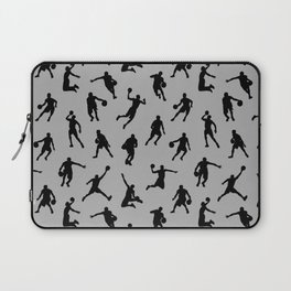 Basketball Players // Silver Laptop Sleeve