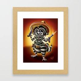 El Bandito Framed Art Print