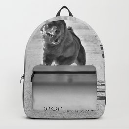 Stop running! Backpack