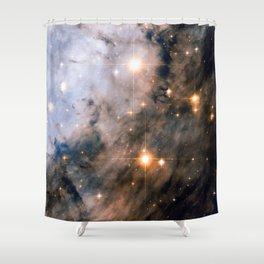 Into the Depths of the Eagle Nebula Shower Curtain