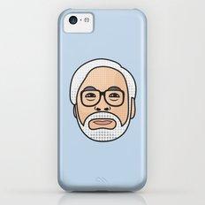Hayao Miyazaki Portrait - Blue iPhone 5c Slim Case