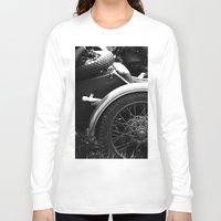 motorcycle Long Sleeve T-shirts featuring motorcycle by Falko Follert Art-FF77