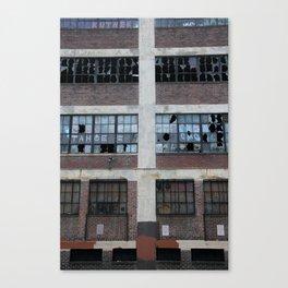 Broken Industry Canvas Print