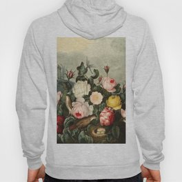 Pink  Red Floral : New Illustration Of The Sexual System Hoody