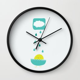 Instant Chic Pools Wall Clock