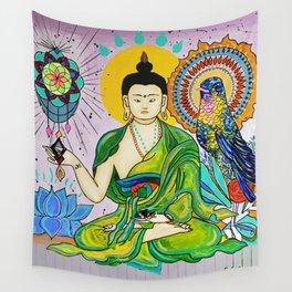 Buddha Freedom Nirvana Wall Tapestry