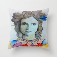 Ivanka Throw Pillow