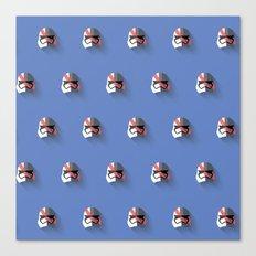Phasma Flat Design Mosaic Canvas Print