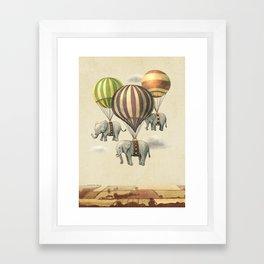 Flight of The Elephants Framed Art Print