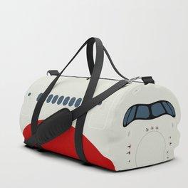 A350 Red Stripe Duffle Bag
