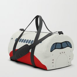 A350 Red Stripe Duffle Bag