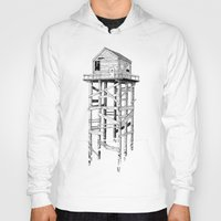 cabin Hoodies featuring cabin fever by PAFF