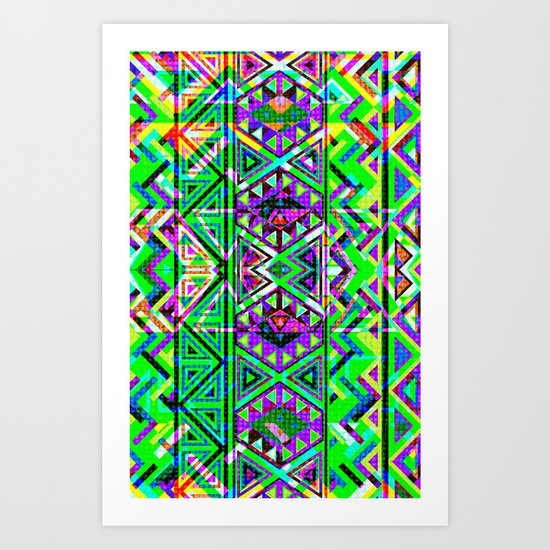 Big Ayahuasca Art Print