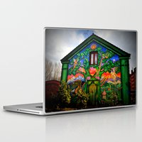 hippy Laptop & iPad Skins featuring house hippy by  Agostino Lo Coco