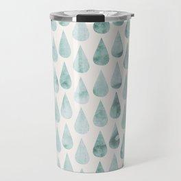 Drop water pattern Travel Mug